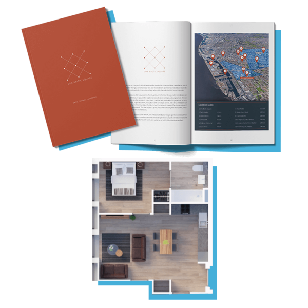 One Baltic Square Info Pack and Floor Plans