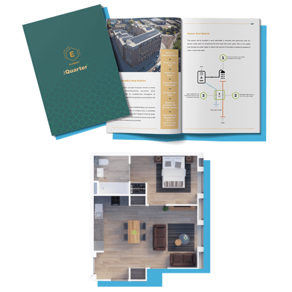 ELEMENT - The Quarter Info Pack and Floor Plans