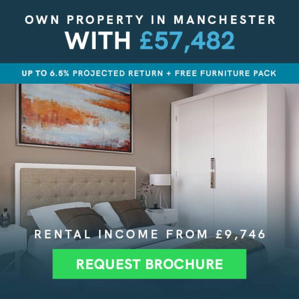 Own Property in Manchester With 57,482 - Request Brochure