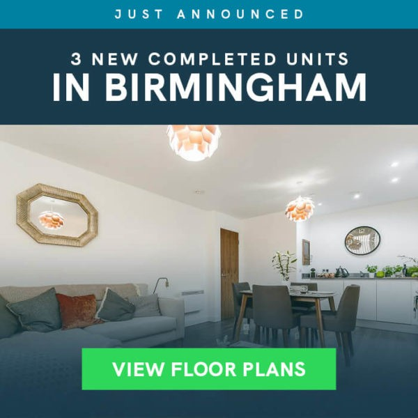 3 New Completed Units in Birmingham - View Floor Plans
