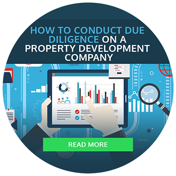 How to conduct due diligence on a property development company - click to read more