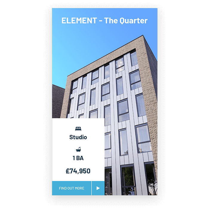 ELEMENT - The Quarter - Property Investment Card