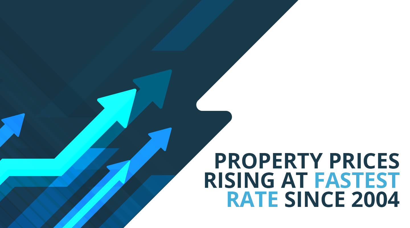 Property Prices Rising at Fastest Rate Since 2004